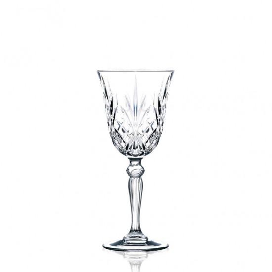 RCR Cristalleria Italiana Melodia Red Wine Goblet 6pcs