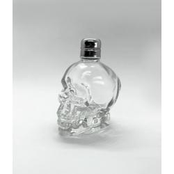 Μπουκαλάκι Γυάλινο Νεκροκεφαλή 50 ml