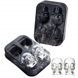 Paderno Mold For Ice-Skulls Silicone