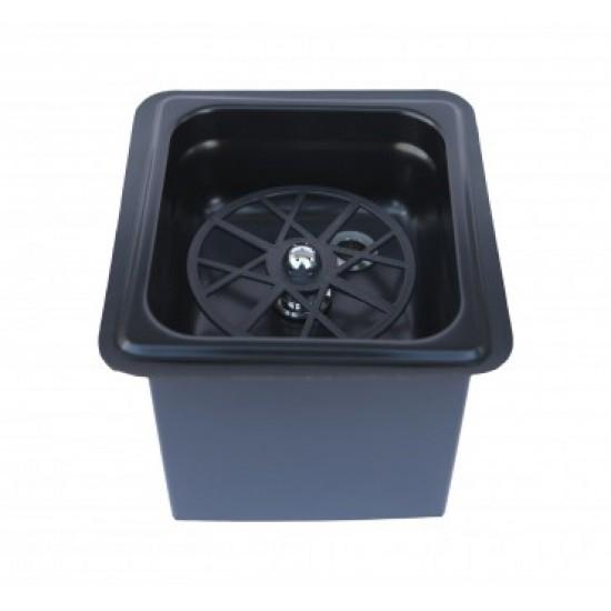 The Rinser - Pitcher Rinser Dishwasher Table Topper Black Mat TR114